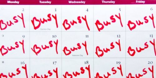 Calendar overbooking
